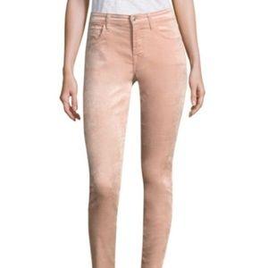 7 For All Mankind Women's The Velvet Pink Jeans 28